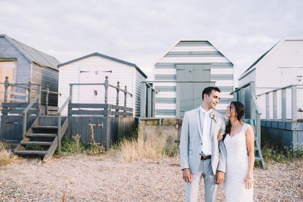 Beachy Rustic Mint Wedding