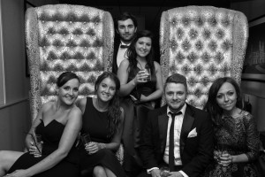 The team at Kent Wedding Awards 2015. Kirsty, Amy, Luke, Clare, Will and Shelly