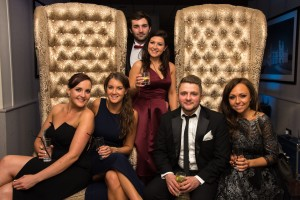 The team at the Kent Wedding Awards 2015. Kirsty, Amy, Luke, Clare, Will and Shelly