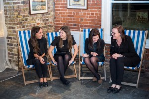 Shelly, Amy, Clare and Kirsty