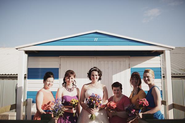 A Multicoloured Shack Wedding