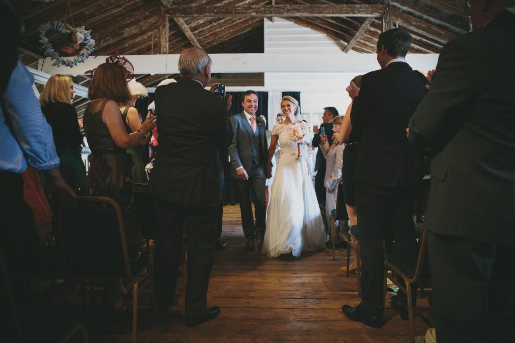 British Seaside Wedding: Helen + Oli