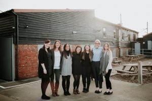 Kirsty, Amy, Shelly, Clare, Georgie, Lucy and Rebecca